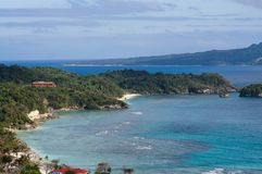 Boracay-Insel von der höheren Ansicht Lizenzfreies Stockfoto