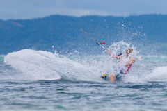 The Boracay internanional funboard cup 28-31 January, 2015. Bora Stock Photos