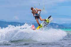 The Boracay internanional funboard cup 28-31 January, 2015. Bora Stock Images