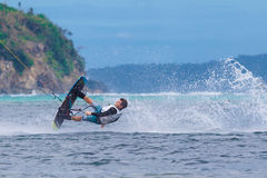 The Boracay internanional funboard cup 28-31 January, 2015. Bora Stock Photography
