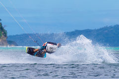 The Boracay internanional funboard cup 28-31 January, 2015. Bora Royalty Free Stock Images