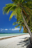 Boracay island tropical beach in philippines Stock Images