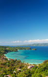 Boracay island tropical landscape in philippines Royalty Free Stock Photography