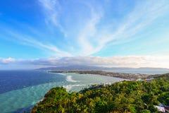 Boracay krajobraz Zdjęcie Royalty Free