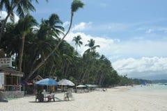 Boracay plaża Zdjęcie Royalty Free