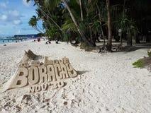 Boracay-Strand Stockfotos