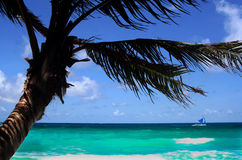 BORACAY strand stock afbeelding