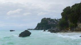 Boracay strand Royaltyfri Fotografi