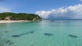Boracay strand Arkivfoton