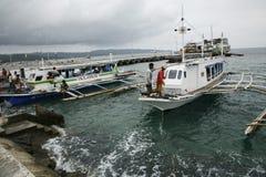 Boracay turystyka Obrazy Royalty Free