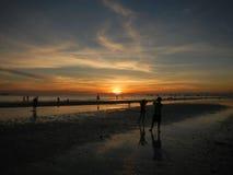 boracay wyspa Philippines relaksuje zmierzch Fotografia Stock