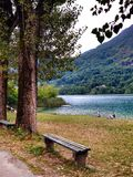 Boracko lake in Konjic, Bosnia and Herzegovina Stock Photography