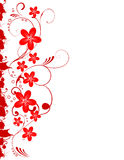 Borader floral Imagens de Stock