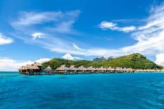 borafransman polynesia Arkivbilder