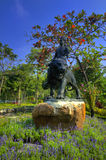 boran庭院muang泰国视图 库存照片