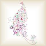 Borboleta abstrata Fotografia de Stock Royalty Free