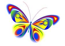 A borboleta bonita ilustração stock