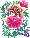 Borboleta chinesa Foto de Stock Royalty Free
