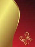Borboleta clássica de Backround Imagem de Stock Royalty Free