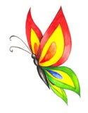 Borboleta colorida Imagens de Stock