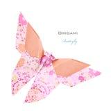 Borboleta cor-de-rosa Fotos de Stock