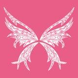 Borboleta da tatuagem Imagens de Stock