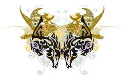 a borboleta do Eagle-cavalo espirra Fotos de Stock
