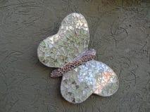 Borboleta feito à mão verde Mariposa Artesanal Verde Imagem de Stock