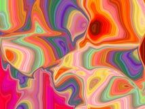 Borboletas abstratas Imagens de Stock