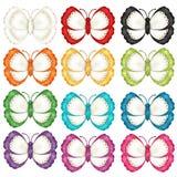 Borboletas coloridas Fotos de Stock Royalty Free