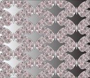Borboletas coloridas com testes padrões do ornamento Ilustração Royalty Free
