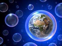 Borbulha o universo Imagens de Stock Royalty Free