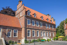 Borchhorster hof in the center of Horstmar. Germany Royalty Free Stock Images