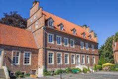 Borchhorster hof in het centrum van Horstmar Royalty-vrije Stock Afbeeldingen