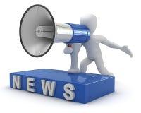 Borco NEWS Royalty Free Stock Photography