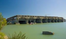 BORDÉUS, FRANÇA - 6 DE SETEMBRO DE 2015: Pena submarina no Bordéus, Aquitaine, França, em setembro de 2015 Imagens de Stock