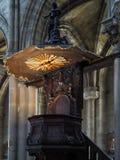 BORDÉUS, GIRONDE/FRANCE - 19 DE SETEMBRO: Ideia interior do P Imagens de Stock Royalty Free