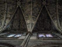 BORDÉUS, GIRONDE/FRANCE - 19 DE SETEMBRO: Teto interior do th Fotos de Stock Royalty Free