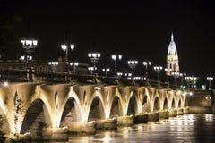 bordów de France Pierre pont Obrazy Royalty Free
