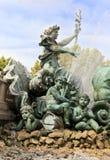 bordów des fontanny France girondins pomnikowi Fotografia Stock