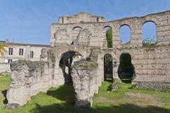 bordów kolosseumu France ruiny Obrazy Royalty Free