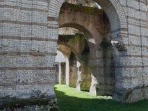 bordów kolosseumu France ruiny Zdjęcia Royalty Free