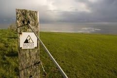 Bord de falaise Photos libres de droits