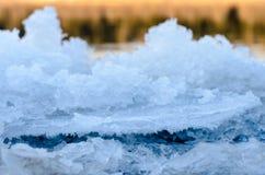 Bord de glace. Photo libre de droits
