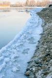 Bord de glace. Images libres de droits