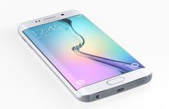 Bord de la galaxie S6 de Samsung illustration libre de droits