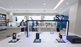 Bord de la galaxie s7 de Samsung Image stock
