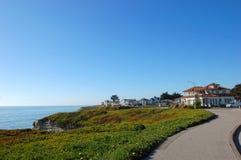 Bord de la mer à Santa Cruz, la Californie Images libres de droits