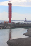Bord de la mer à Sotchi, krai de Krasnodar Photos stock
