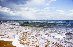 bord de la mer Images stock